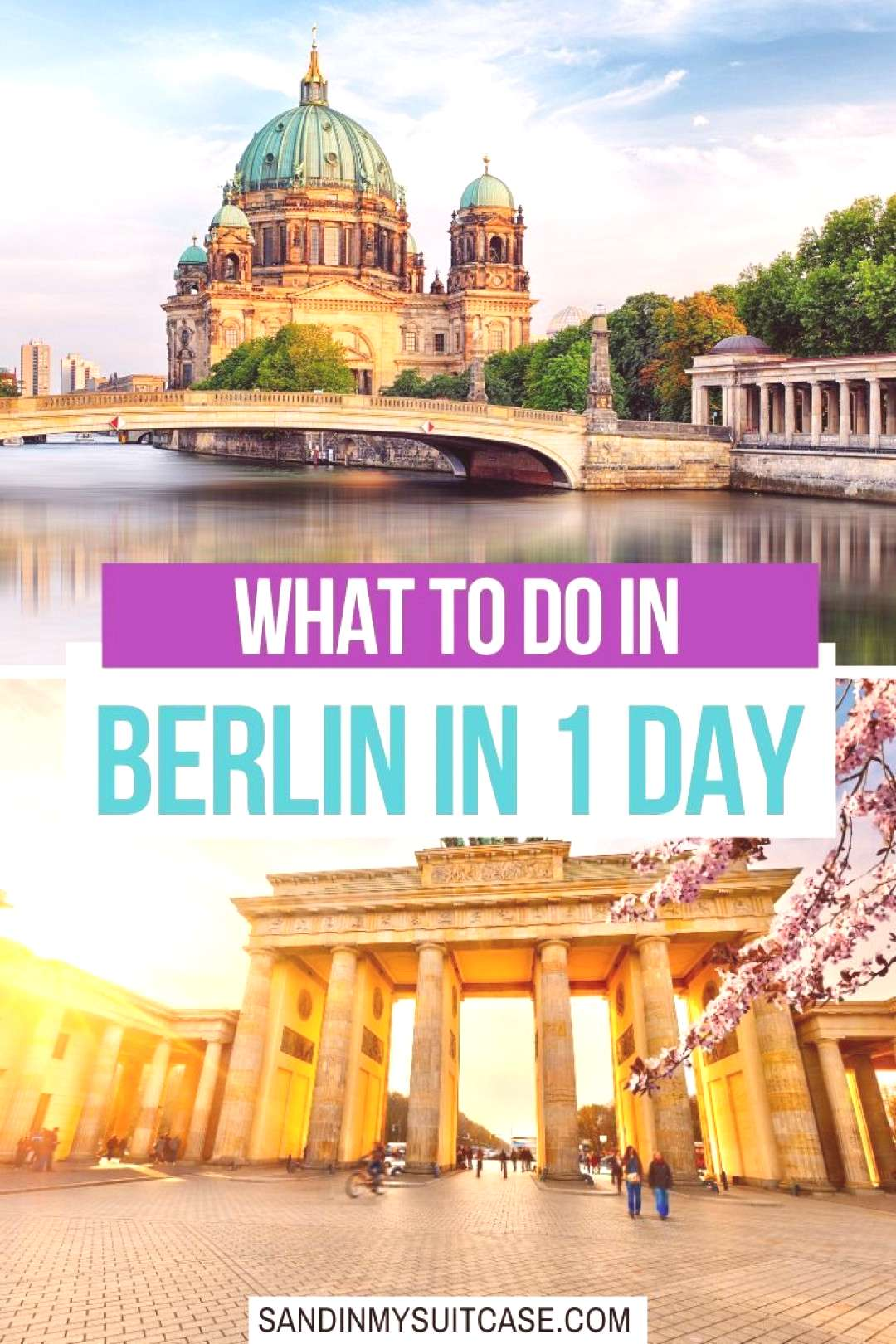One Day in Berlin. Crazy? Or Not? | Sand In My Suitcase How to see Berlin in 1 day this is the bes