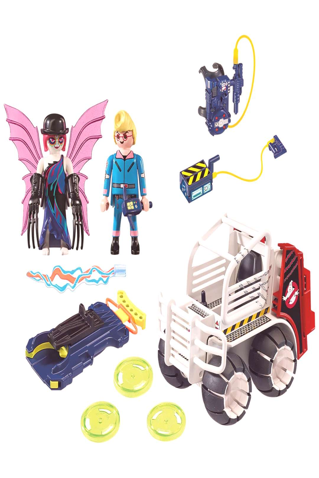Playmobil Ghostbusters Cage Vehicle (9386) - Playmobil Ghostbusters Cage Vehicle (9386) -