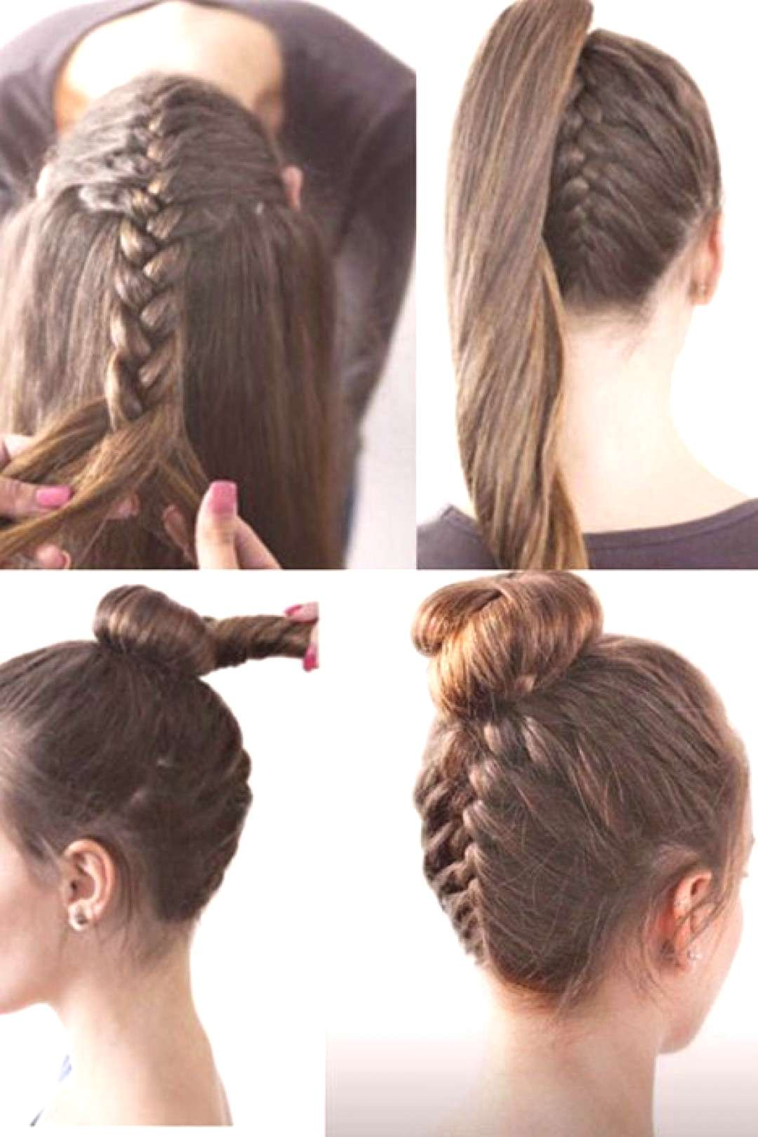 Simple hairstyles for Christmas StylishCircle Germany#christmas