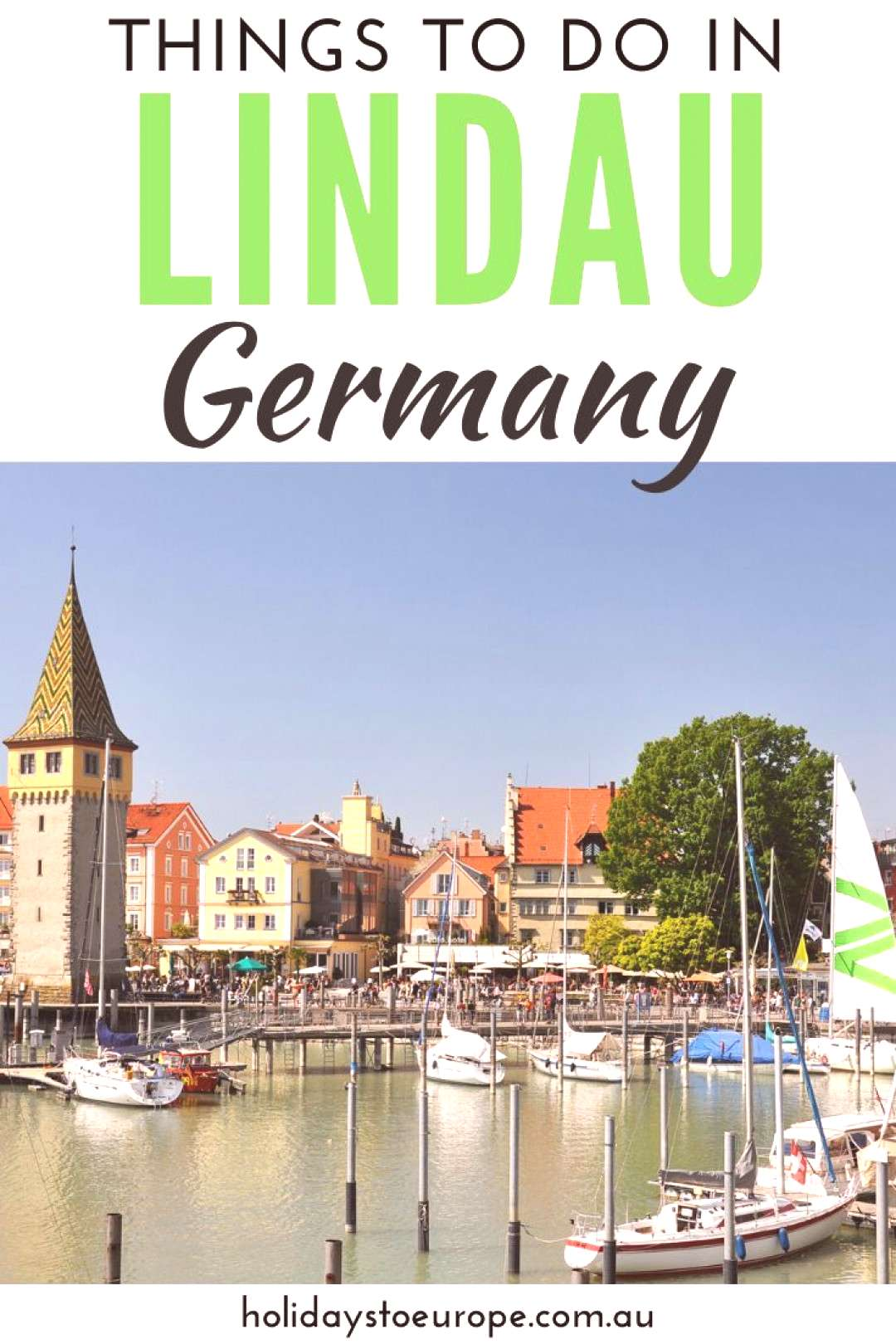 Things to do in Lindau, Germany Lindau is a pretty medieval town sitting on the German shores of La