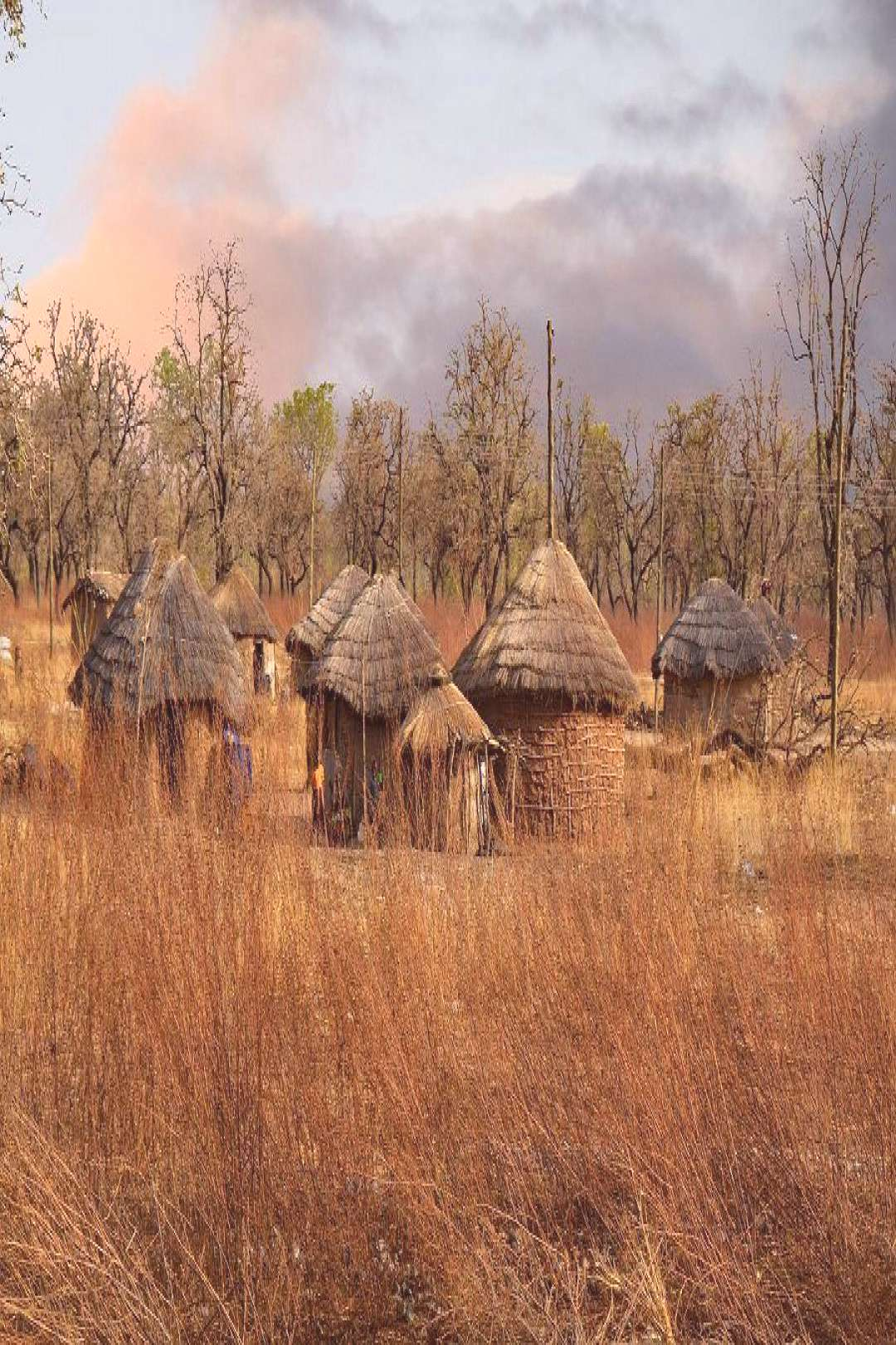 Top 10 Common Misconceptions About Africa - Stereotypes amp Myths Ghana village in West Africa.