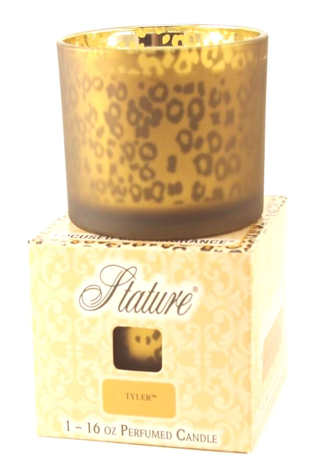 Tyler Candle Stature Collection Leopard 16 oz Candle - Diva – Giddy Up Glamour Boutique