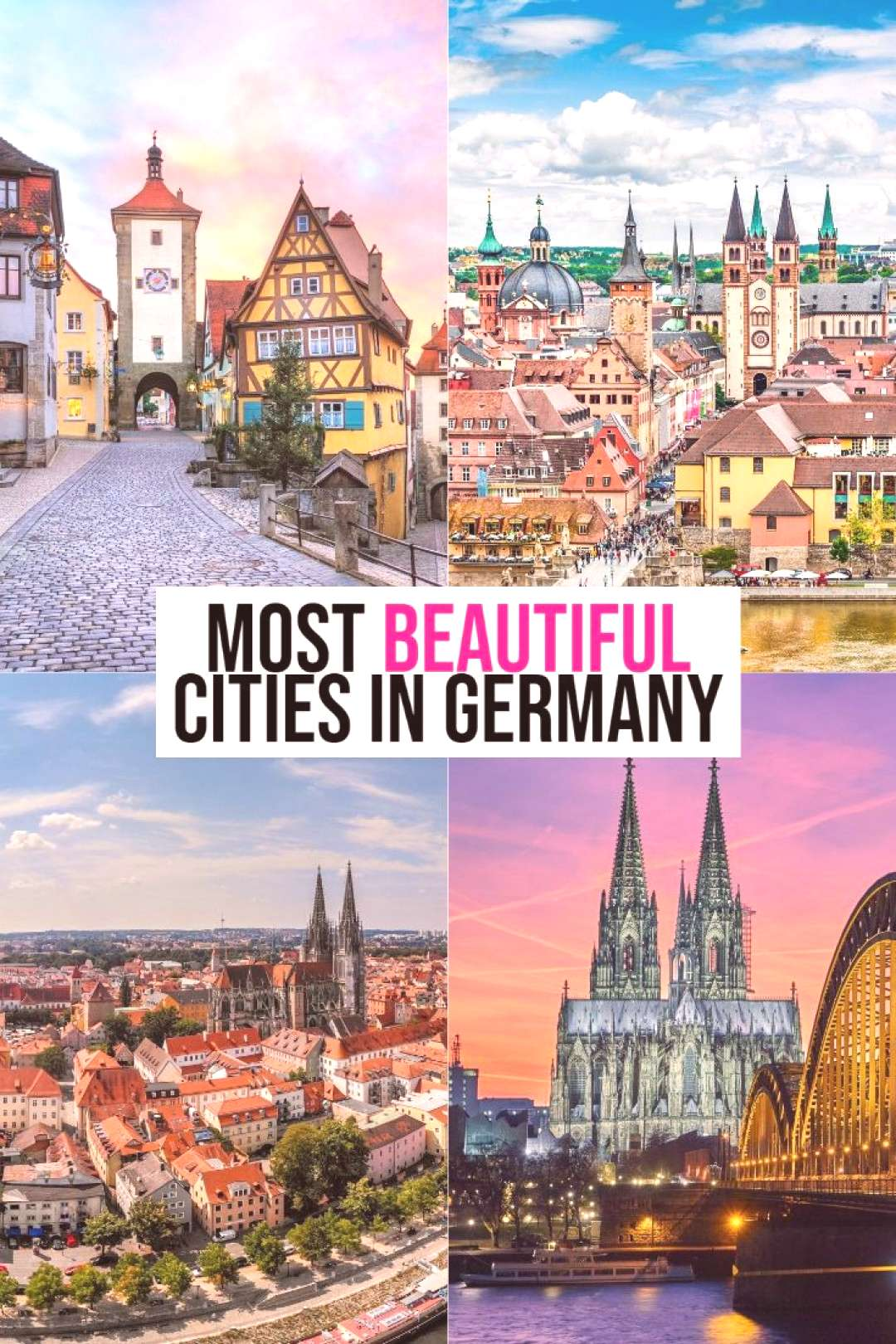 Where To See The MOST BEAUTIFUL Cities In Germany! The Most Beautiful Cities In Germany To Visit! |